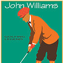 Personalised Golf Print, Vintage, Men's