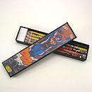 Set Of Five Superhero Pencils