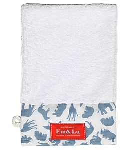 Boy's Towelling Wash Mitt - bathtime
