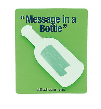 Message In A Bottle Self Adhesive Notes