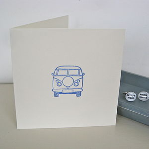 Handmade Campervan Card - shop by category