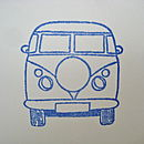 Handmade Campervan Card