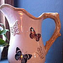 Ceramic Butterfly Serving Jug