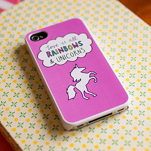 Rainbows And Unicorns Cover For IPhone