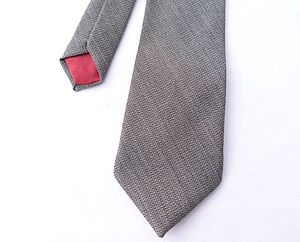 Herringbone Tweed Tie - ties