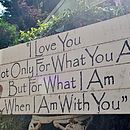 Large Wedding Statement Sign