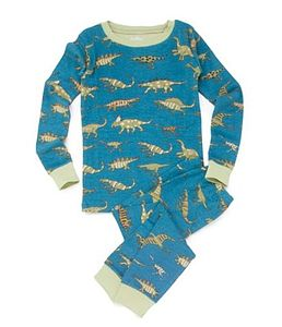 Dinosaur Print Pyjamas - clothing
