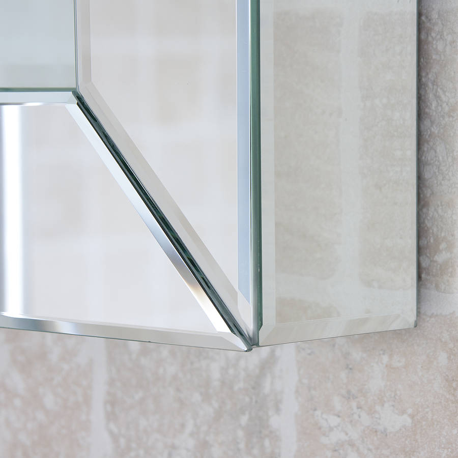 Deep all glass bathroom mirror by decorative mirrors for Mirror o mirror