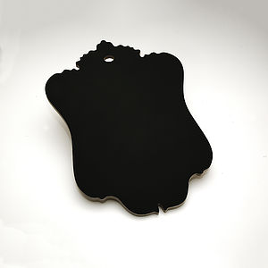 Handmade Baroque Frame Shaped Chalkboard - kitchen accessories