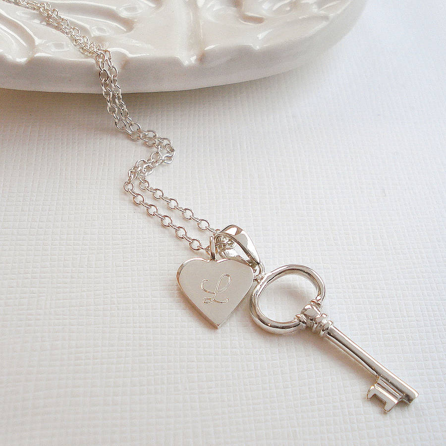 horizontal jewelry sterling silver necklace low silpada key in