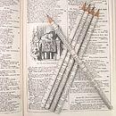 Set Of Five Shakespeare Pencils
