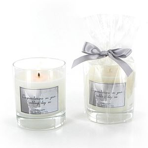Personalised Wedding Candles - wedding gifts