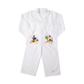 Boy's Pirate Cotton Pyjamas