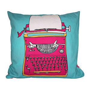 Typewriter Retro Cushion - cushions