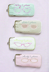 Family Glasses Spectacle Case - bags & purses