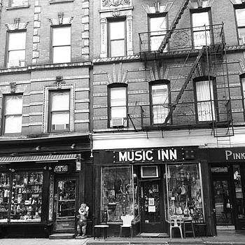 New York Music Inn Photographic Print