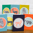 Wildlife Blank Greetings Cards