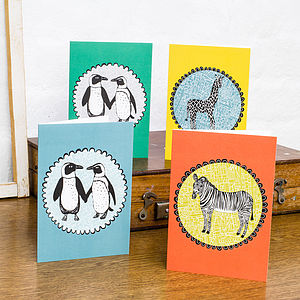 Animal Greetings Cards - cards & invitations