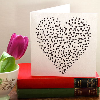 Dotty About You Greetings Card