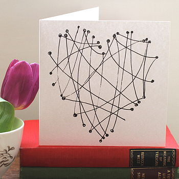 Tangles Greetings Card