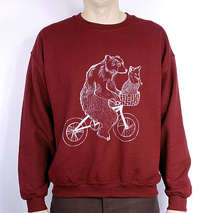 Bear Phone Home Jumper - jumpers & cardigans