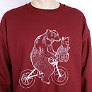 Bear Phone Home Jumper
