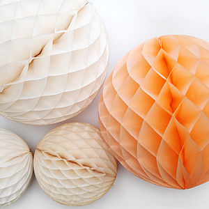 Giant Tissue Paper Ball Decoration - decorative accessories