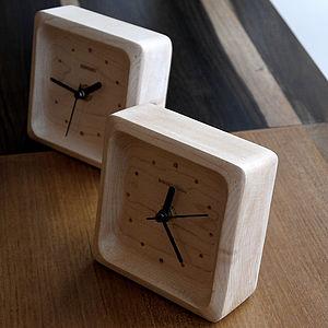 Maple Wood Clock - clocks