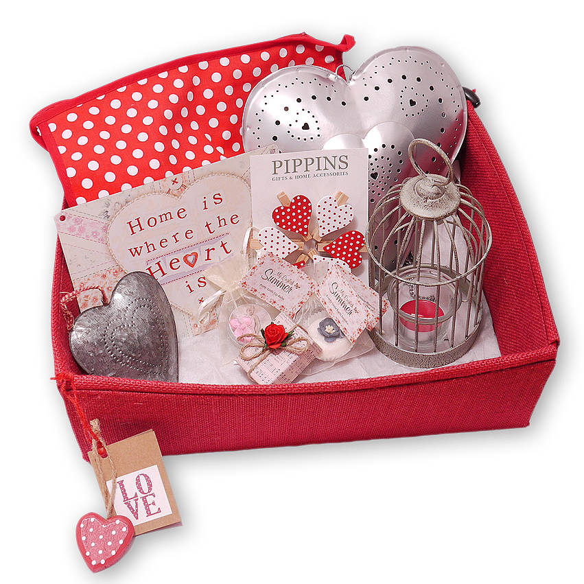 vintage shabby chic style gift hamper by pippins gift company ...