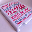 Personalised Likes Case For IPad Two