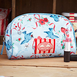 Bluebirds Cosmetic Bag - women's accessories