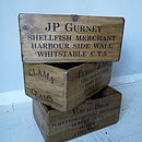 Vintage Fishmonger Box