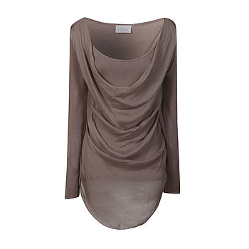 Silk Drape Top