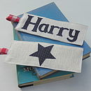 Personalised Star Bookmark