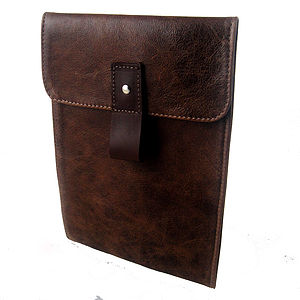 Leather Mini iPad Case Various Colours - off to university