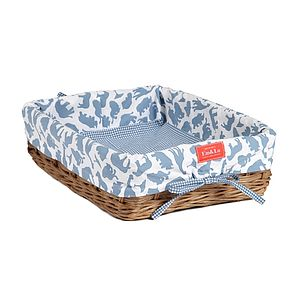 Boy's Shallow Wicker Tray