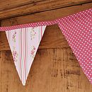 Vintage Style Rose Bunting