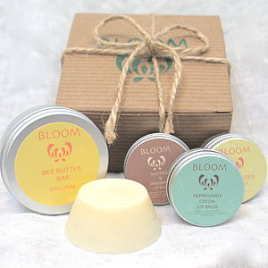 Lip Balm And Body Butter Gift Box - skincare