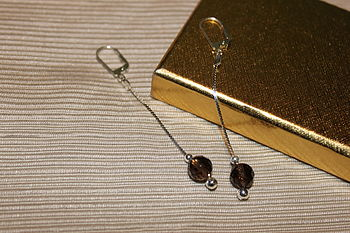 Smokey Quartz Earrings By Inspire Rocks