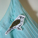 Birdsong Brooch - Ivory