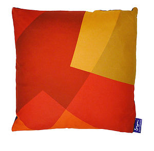 After Matisse Cushion Fire