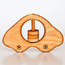 Organic Wooden Car Rattle