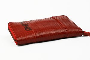 Reclaimed Fire Hose Ladies Purse - bags & purses