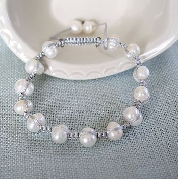 Pearl Friendship Bracelet