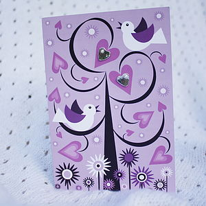 Mothers Day Earrings Card - earrings