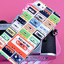 Personalised Cassette Tapes Case For IPhone