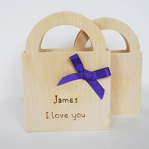 Personalised Gift Box - wedding favours