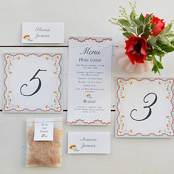 Spring Petals Wedding Day Decor