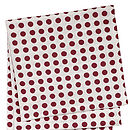 London Tablecloth Vermillion