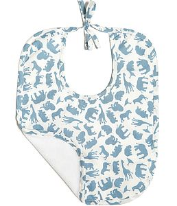 Boy's Towelling Lined Bib - essential baby gifts